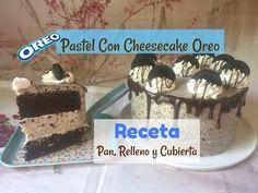 Pastel Oreo Con Cheesecake, Sabor Moka, Relleno y Cubierta. - YouTube