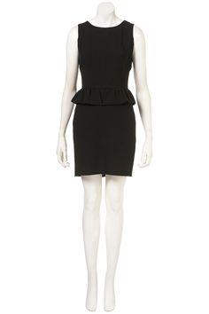 CREPE MINI PEPLUM DRESS | Topshop