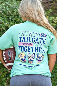 Friends Who Tailgate Together (Chalky Mint) - Short Sleeve
