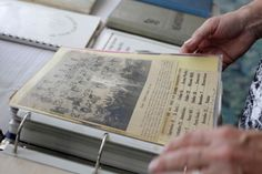 class reunion ideas - let classmates look through a collection of old newspaper clippings and photos from school