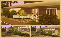 Memories retro house by Elke - Sims 3 Downloads CC Caboodle
