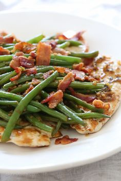 One-Skillet Chicken with Bacon & Green Beans | These Are The Recipes You Need To Try In 2017
