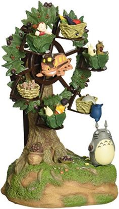 Benelic My Neighbor Totoro Ferris Wheel Music Box Statue >>> Check this awesome product by going to the link at the image.