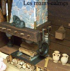 les mains calmes: Cabane de trappeur