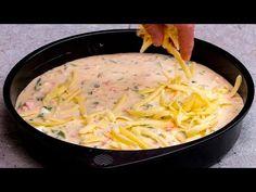 Biztosan elég lesz 5 perc hogy elkészüljön ez az ízletes és praktikus étel| Cookrate - Magyarország - YouTube Cheddar, The Creator, Spaghetti, Feta, Chicken, Baking, Ethnic Recipes, Desert Recipes, Omelette