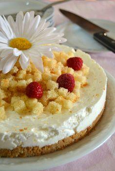 Mimosa cheesecake, dolce delizioso