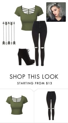 """""""Untitled #25"""" by brookiecookie3218 ❤ liked on Polyvore featuring LE3NO and Topshop"""