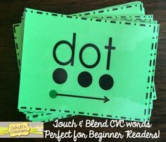 Classroom Freebies Too: Blending CVC Words