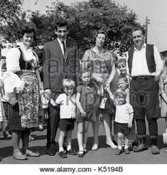 Stock Photo - Prince Andreas of Yugoslavia and his wife Princess Kira of Leiningen visiting Serbian Chetniks in traditional costume at a displaced persons camp in England Uk 1968 Camping In England, Christian Ix, Serbian, England Uk, Queen Victoria, Prussia, Prince, Descendants, Edinburgh