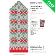 Résultat d'images pour latvian knitting pattern Knitted Mittens Pattern, Loom Knitting Patterns, Knit Mittens, Knitting Charts, Knitted Blankets, Knitting Socks, Knit Socks, Wool Gloves, Mitten Gloves