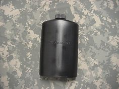 US MILITARY PLASTIC 1 PINT PILOT FLASK / CANTEEN, BLACK