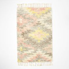 West Elm - Ashik Wool Rug - Multi (from West Elm, so it's expensive, but the 3x5 size is under $200, if that's not too small).