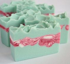 Peppermint Eucalyptus Soap Handmade Cold by innerearthsoaps.: