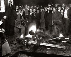 Kognitiv tilstand: Lynsjingen i Omaha i 1919