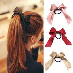 Apparel Accessories Humorous Korea Fabric Tie Knot Hair Bands Rabbit Ears Hairband Flower Crown Headbands For Girls Hair Bows Hair Accessories D We Have Won Praise From Customers Girl's Accessories