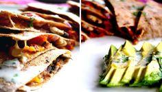 Quesadillas Vegetarianas + Tortillas caseras integrales | GreenVivant