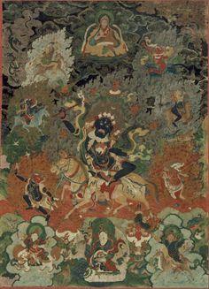 Palden Lhamo - Buddhist Dharmapala: Palden Lhamo