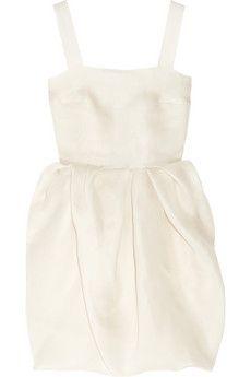 Lanvin Bubble-Skirt Silk-Gazar Dress...stunning.
