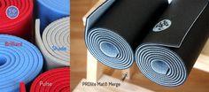 Vpravo nová barva nejoblíbenější podložky od Manduky, PROlite Mat - dvoubarevná varianta Merge! V našem obhcůdku ji najdete tady: http://www.yogaguru.cz/cs/podlozka-na-jogu/proliter-mat