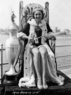 Henrietta Leaver, Miss America 1935.