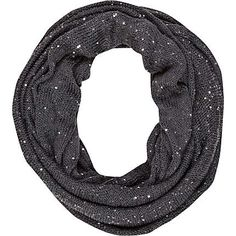 grey knitted sequin snood - scarves - accessories - women - River Island