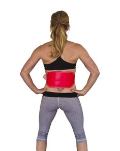 Unbroken Designs Leather Weight Lifting Belt in Hot Pink.  Want and Need!