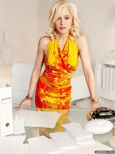 Madonna for Versace by Mario Testino
