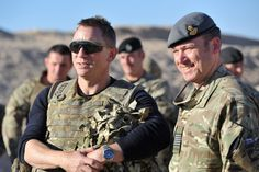 Photo: 007 himself, Daniel Craig, made a surprise visit to troops at Camp Bastion in Afghanistan today