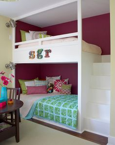 Rhode Island Beach House - eclectic - kids - boston - by Rachel Reider Interiors