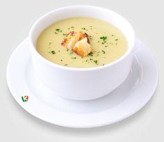 Крем супа с крутони: Ароматна крем супа, създадена да стопли настроението у всеки, който я опита. Комбинацията с хрупкави крутони я прави още по-привлекателна.