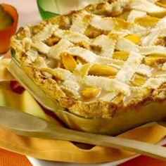Old Fashioned Peach Cobbler #food #dessert #recipe