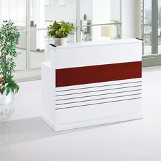 hot sale high evaluation cheap office furniture small reception desk