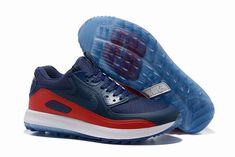 the latest 71a54 94ac5 nike homme pas cher air max 90 ultra bleu et rouge homme