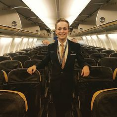 Soo that's it my last flight for #ryanair starting at Small Planet Airlines next week... so excited! and #happybirthday to me #22 today! #boeing #aviation #airbus #avgeek #cabincrew #crewlife #flightattendant #crewfie #followme #travel #steward #flyguy #aircrew #travel #wanderlust #crew #pilot #cockpit #gay #crewfie #cabincrewthreads #crewiser : @findingwessel