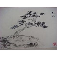 Peinture Arbre Chinoise - Monlulu 夢侶侶