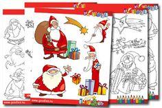 målarblad jul | Goodies. Skriv ut bladen och låt barnen färglägga dem. Ladda ner och skriv ut gratis. Goodies, Comics, Halloween, Tips, Mandalas, Velvet, Sweet Like Candy, Gummi Candy, Cartoons