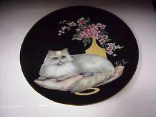 Bianka Sophisticated Cat Ladies Aldo Fazio 8 5 Fine Collector Plate D 1317 Catio, Cat Lady, Decorative Plates, Home Decor, Animals, Cat Design, Art, Dishes, Decoration Home