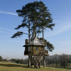 Tree House - it would be nice to have one in a garden