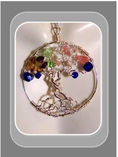 Mother jewelrybirthstone JewelryTree of life by SpecialMomGifts