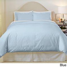 Pointehaven 500 Thread Count Egyptian Cotton 3-piece Duvet Cover Set | Overstock.com Shopping - The Best Deals on Duvet Covers