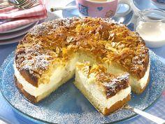Bienenstich - innen cremig, außen knusprig - bienenstich-torte