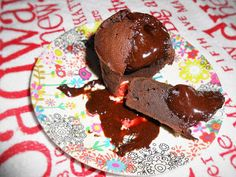 Mrs Anglo's cakes: COULANT DE CHOCOLATE NEGRO