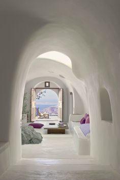 This is on my bucket list!!!.......: Perivolas Oia Santorini is a stunning hotel located in Oia, on the island of Santorini, in Greece.