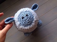 Little Boy Blue // Crocheted Sheep // Baby by SweetMatroyshkas