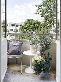 Un petit balcon aménagé <3 #outdoorliving #inspiration #home