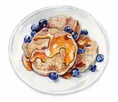 Watercolour Illustrations - Holly Exley Illustrator: Pudding paintings! | Watercolour Illustrations