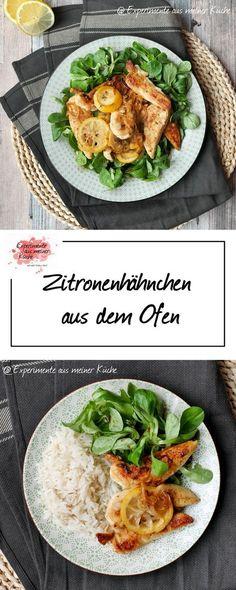 Zitronenhähnchen aus dem Ofen | Rezept | Kochen | Weight Watchers