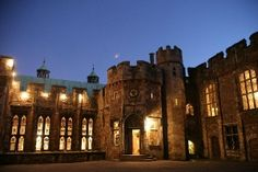 Berkeley Castle, home of my father's and mother's ancestors. The Berkeley family are one of only three families in England who can trace their ancestry from father to son back to Saxon times.