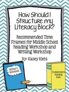 Take a look at this free handy guide to help you plan out how to best structure your time with students during your reading/writing instruction time! Middle School Literacy, Middle School Reading, Middle School English, Middle School Teachers, High School, 6th Grade Ela, 6th Grade Reading, Sixth Grade, Seventh Grade