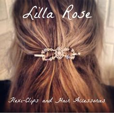 Lilla Rose Flexi Clips and Hair Accessories